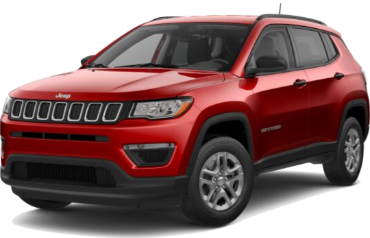 Red Jeep Compass Lease Offer