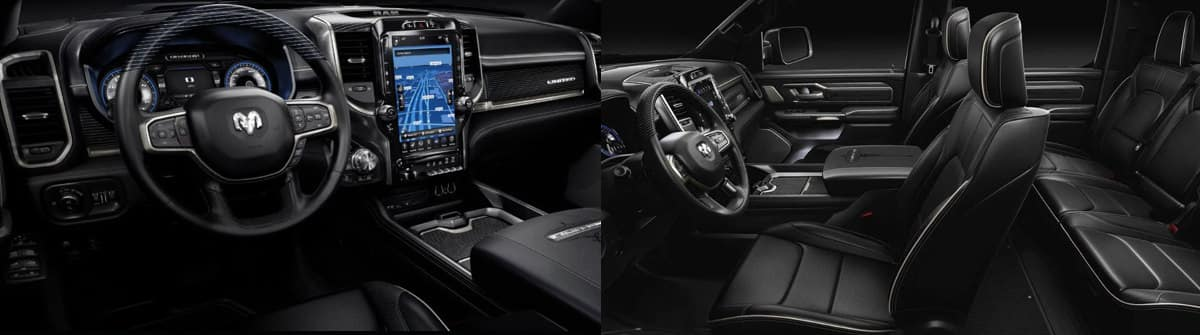 All-New 2019 RAM 1500 vs 2019 RAM 1500 Classic Interior Features