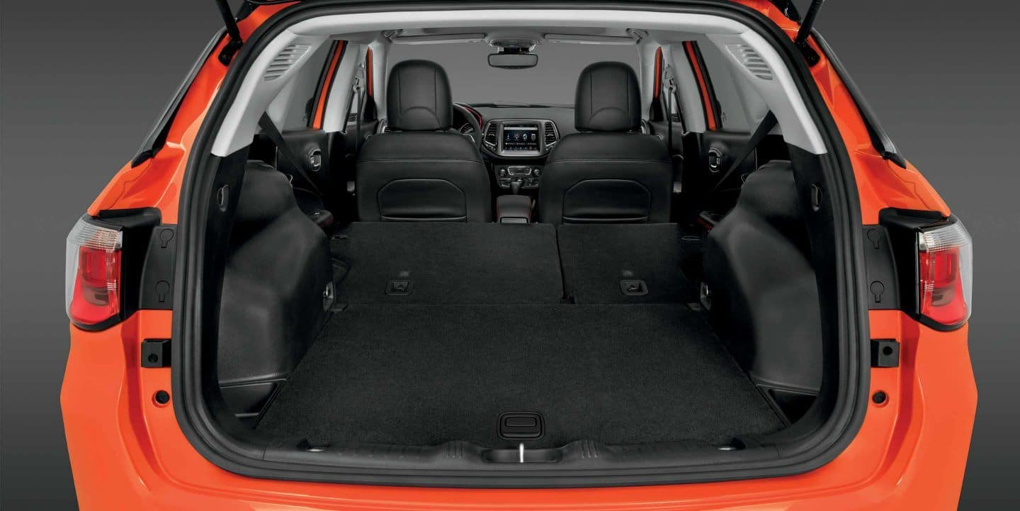 The Interior Trunk View of the 2019 Jeep Compass