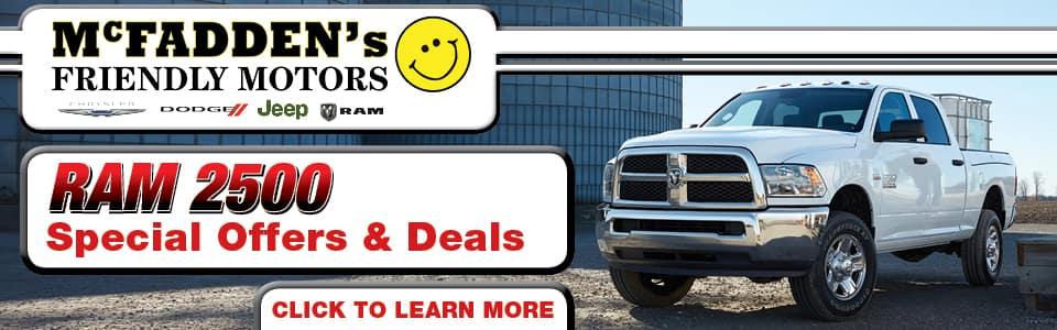 Ram 2500 Special Offers & Deals