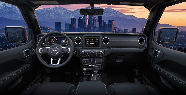 2020 Jeep Gladiator Black Dashboard Interior