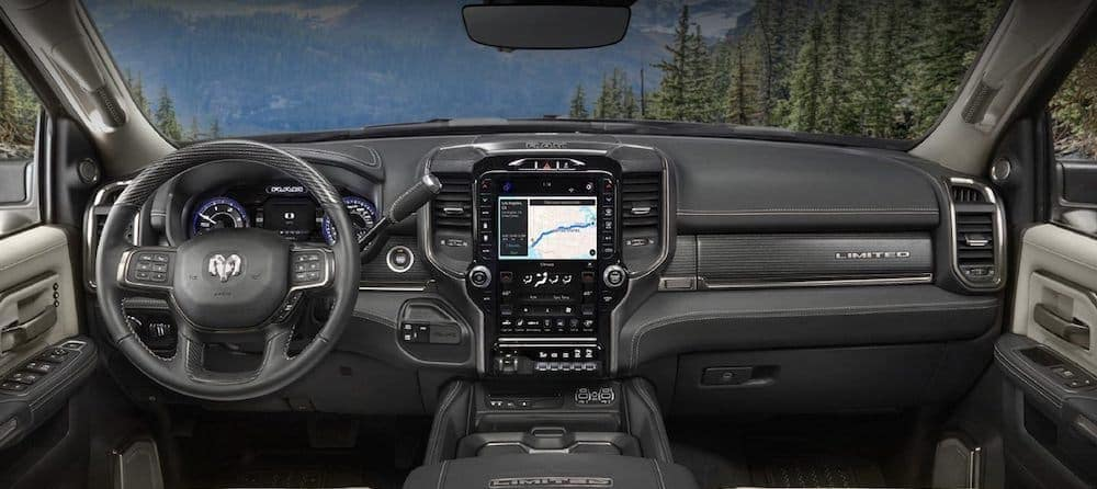 2019 Ram 3500 Limited Interior Dash