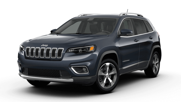 2019 Blue Jeep Cherokee