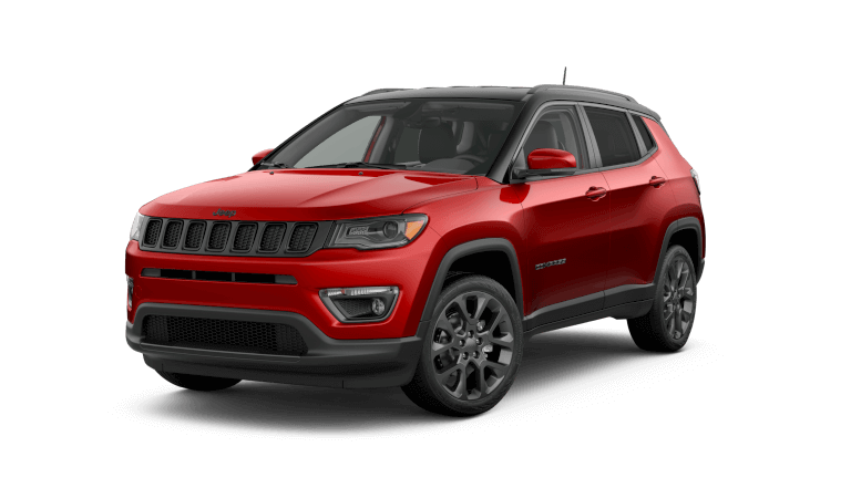 2019 Red Jeep Compass