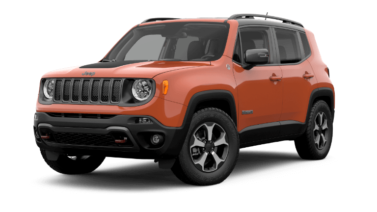 2019 Orange Jeep Renegade