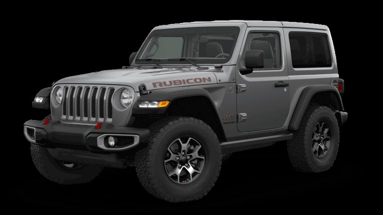 2019 Orange Jeep Wrangle Rubicon