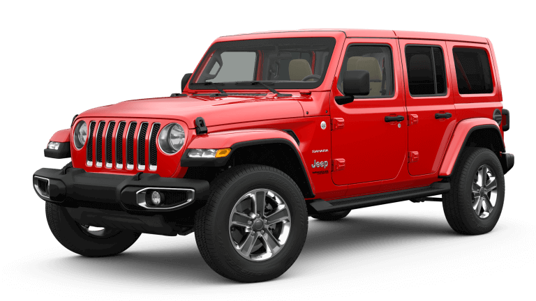 2019 Red Jeep Wrangler