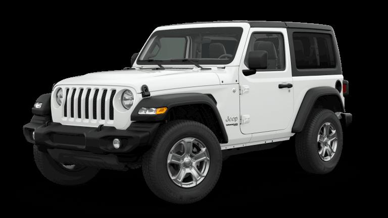 2019 Orange Jeep Wrangle Sport S