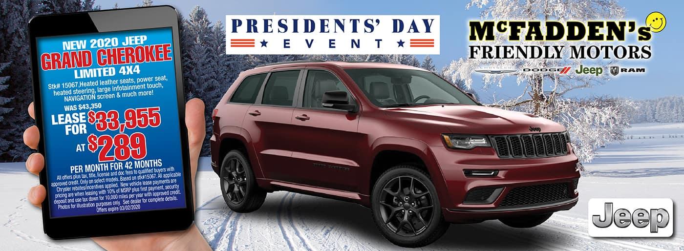 2020 Jeep Cherokee Limited STK# 15067