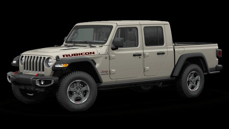 2020 Sand Jeep Gladiator Rubicon