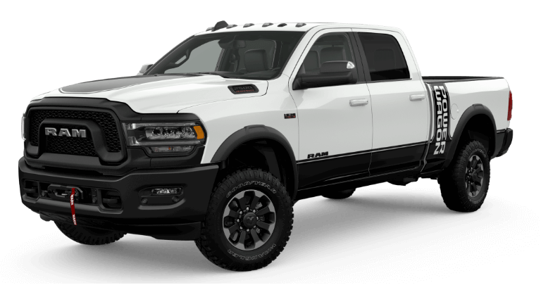 2020 White Ram 2500 Powerwagon