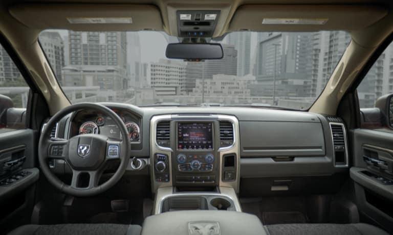 2020 Ram 1500 Interior Dashboard