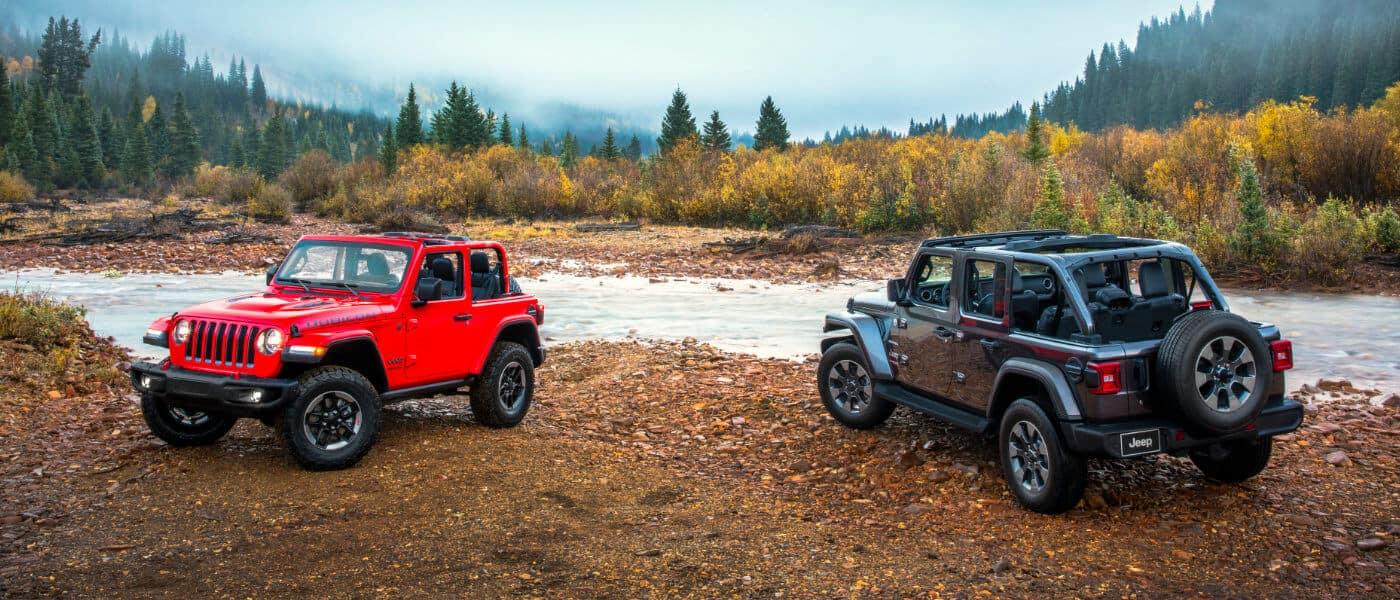 2021 Jeep Wrangler Trims Sport Vs Sahara Vs Rubicon Vs Altitude