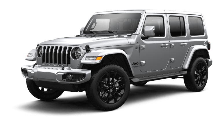 2021 Jeep Wrangler High Altitude - Billet Silver
