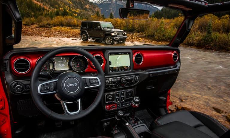 2021 Jeep Wrangler Leather Inteiror View