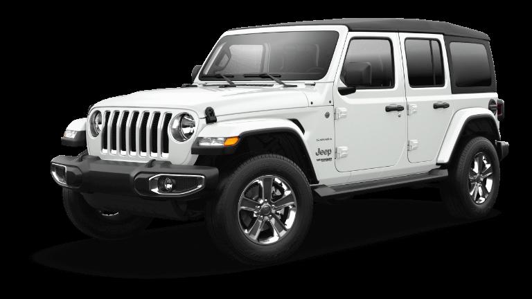 2021 Jeep Wrangler Sahara - Bright White