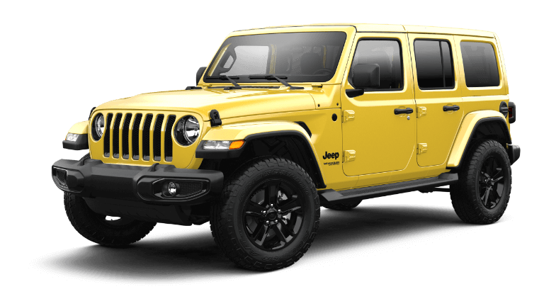 2021 Jeep Wrangler Sahara Altitude - Hellayella