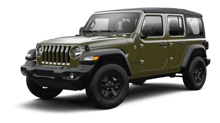 2021 Jeep Wrangler Sport - Sarge Green