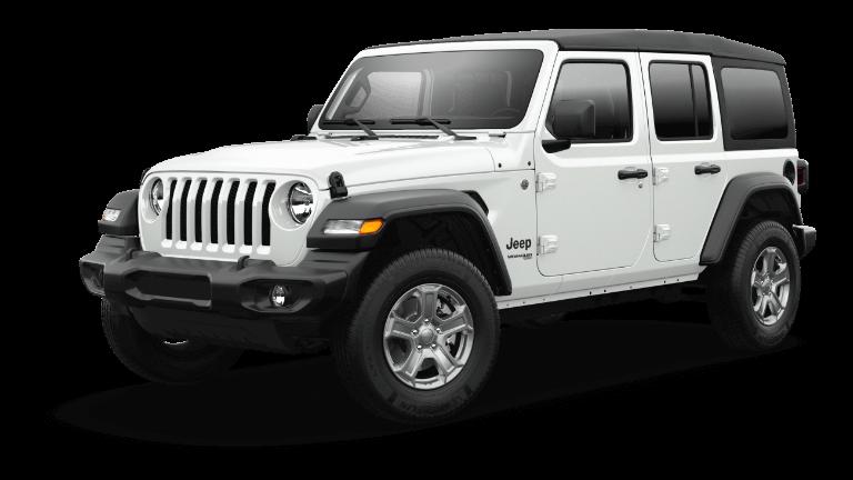 2021 Jeep Wrangler Sport S - Bright White