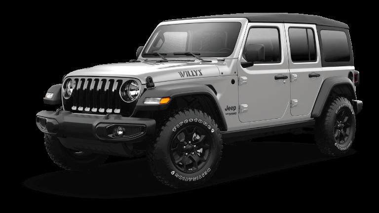 2021 Jeep Wrangler Willys Sport - Sting Gray