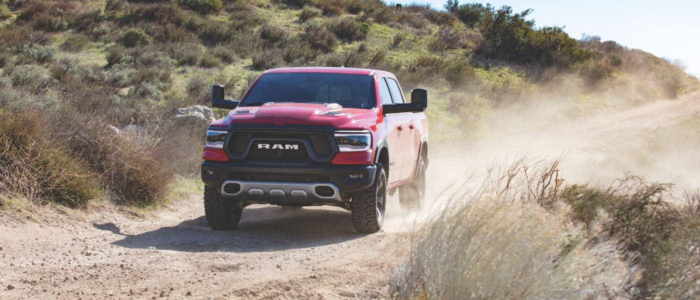 2021 Red Ram 1500 Driving Off-Road