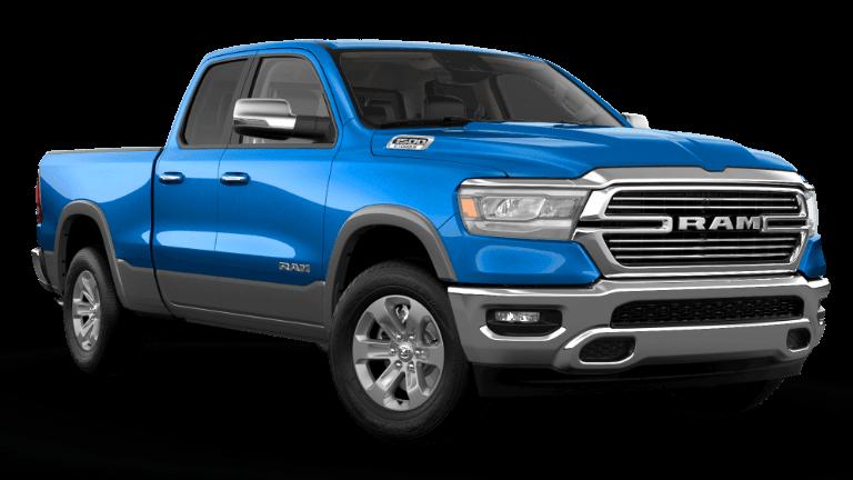 2021 Ram 1500 Laramie - Hyrdo Blue Billet Silver