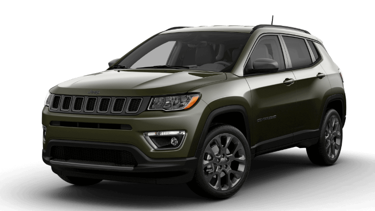 2021 Jeep Compass 80th Anniversary Edition - Olive Green Pearl