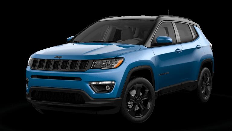 2021 Jeep Compass Altitude - Laser Blue Pearl