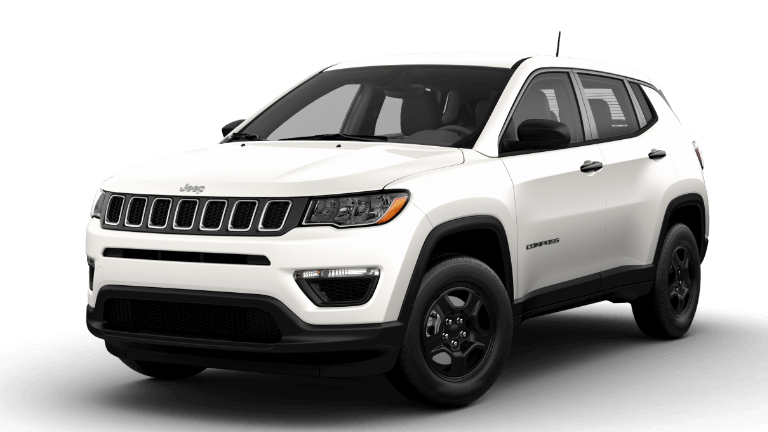 2021 Jeep Compass Sport - White Clear Coat