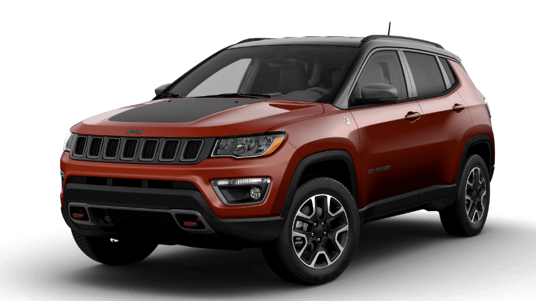 2021 Jeep Compass Trailhawk - Spirit Fire Orange