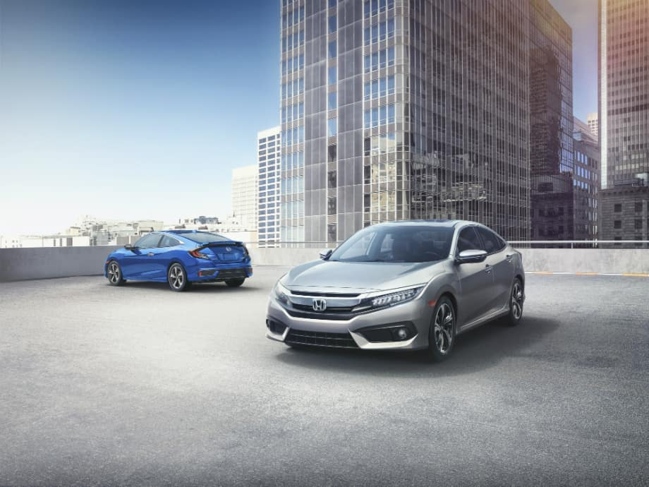2018 Honda Civic Touring Models