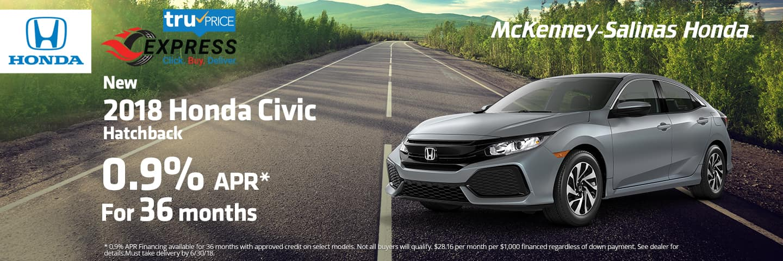 Honda Of Gastonia >> Honda Dealer near Charlotte | McKenney-Salinas Honda