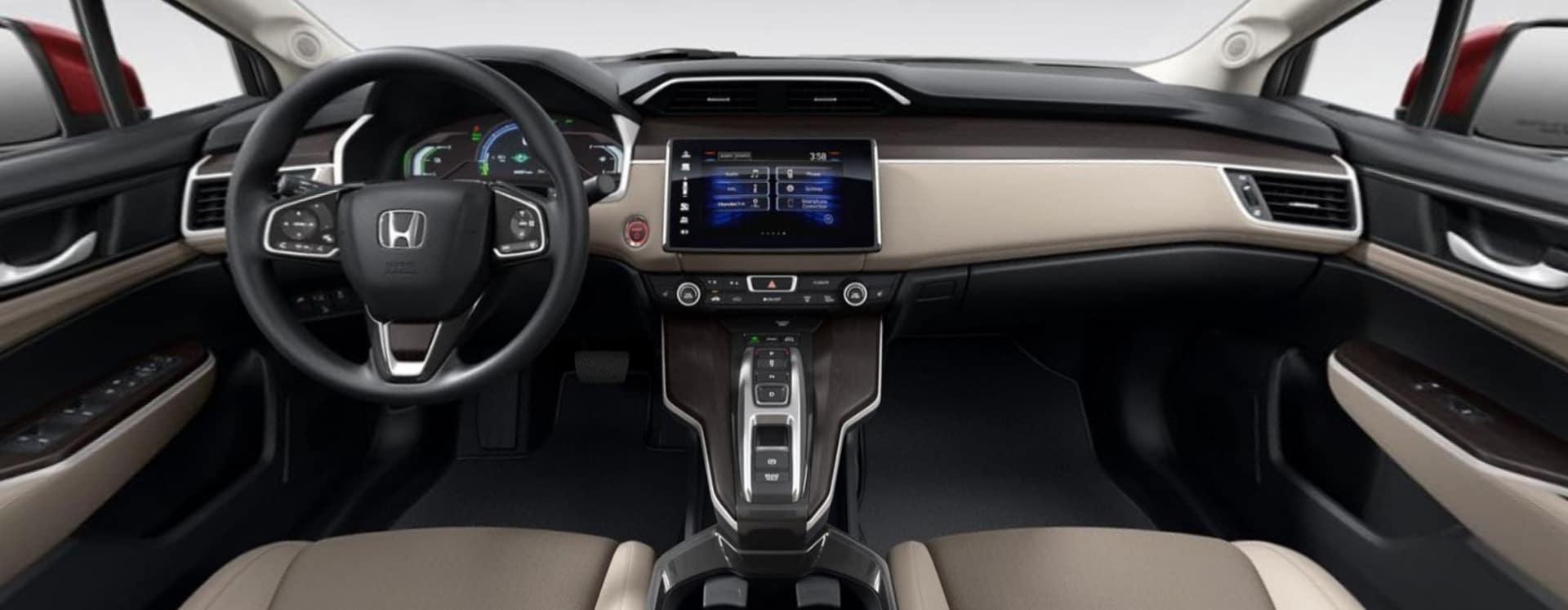 2021 Honda Clarity Plug-In Hybrid Interior