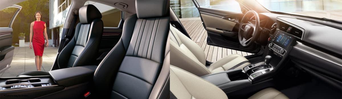 2020 Honda Accord vs Honda Civic Interior