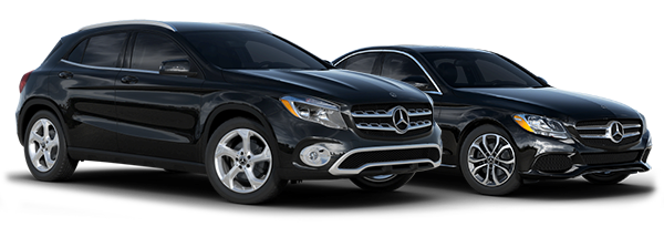 2018 Mercedes-Benz C300 and 2018 Mercedes-Benz GLA350