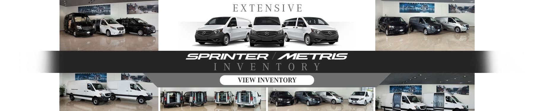 Sprinter Metris Inventory