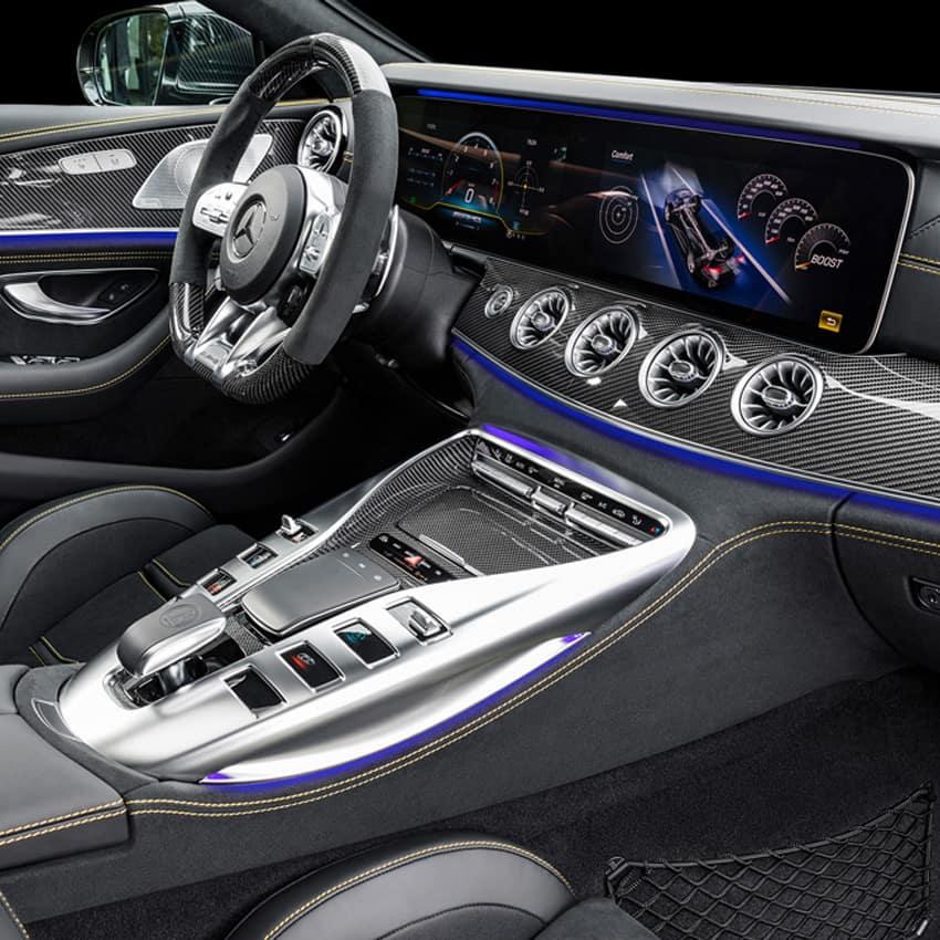 2019 AMG GT - Interior