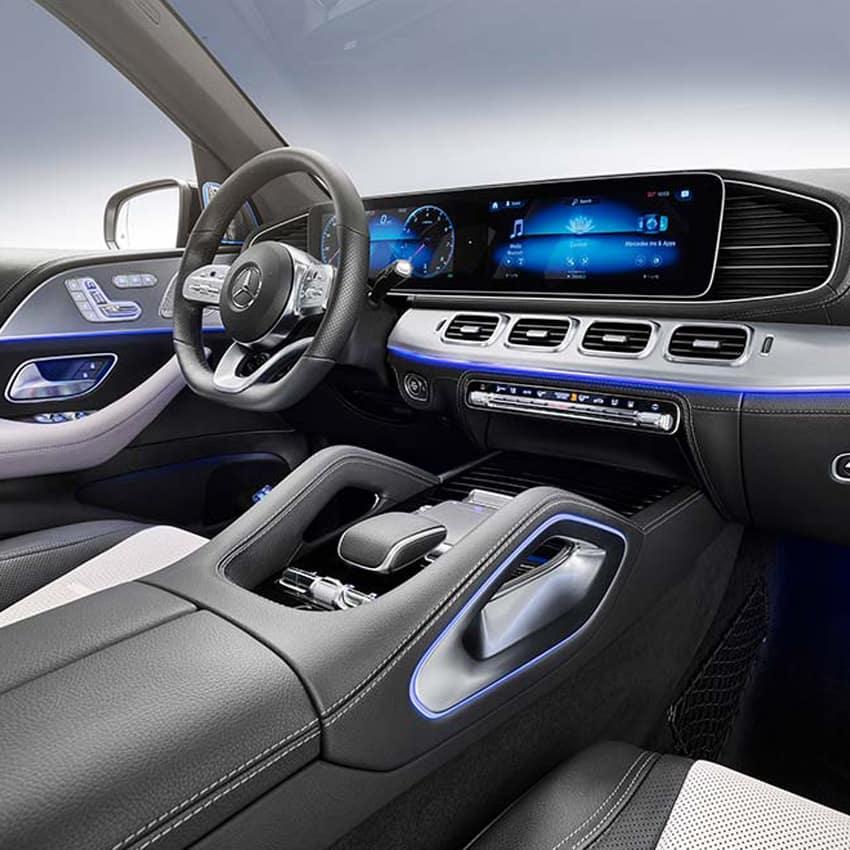 2020 GLE Interior