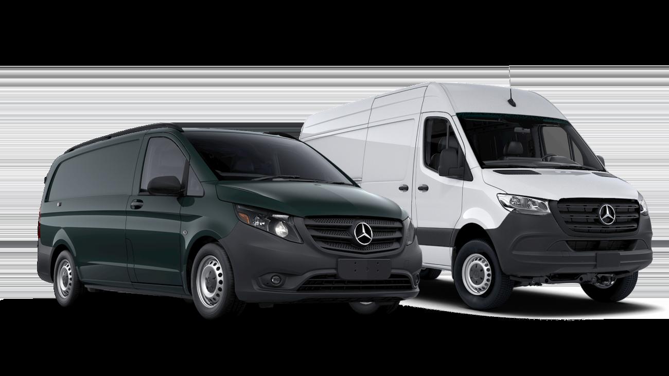 2020 Mercedes-Benz Sprinter and Metris Vans