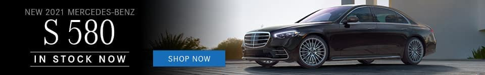 2021 Mercedes-Benz S-580
