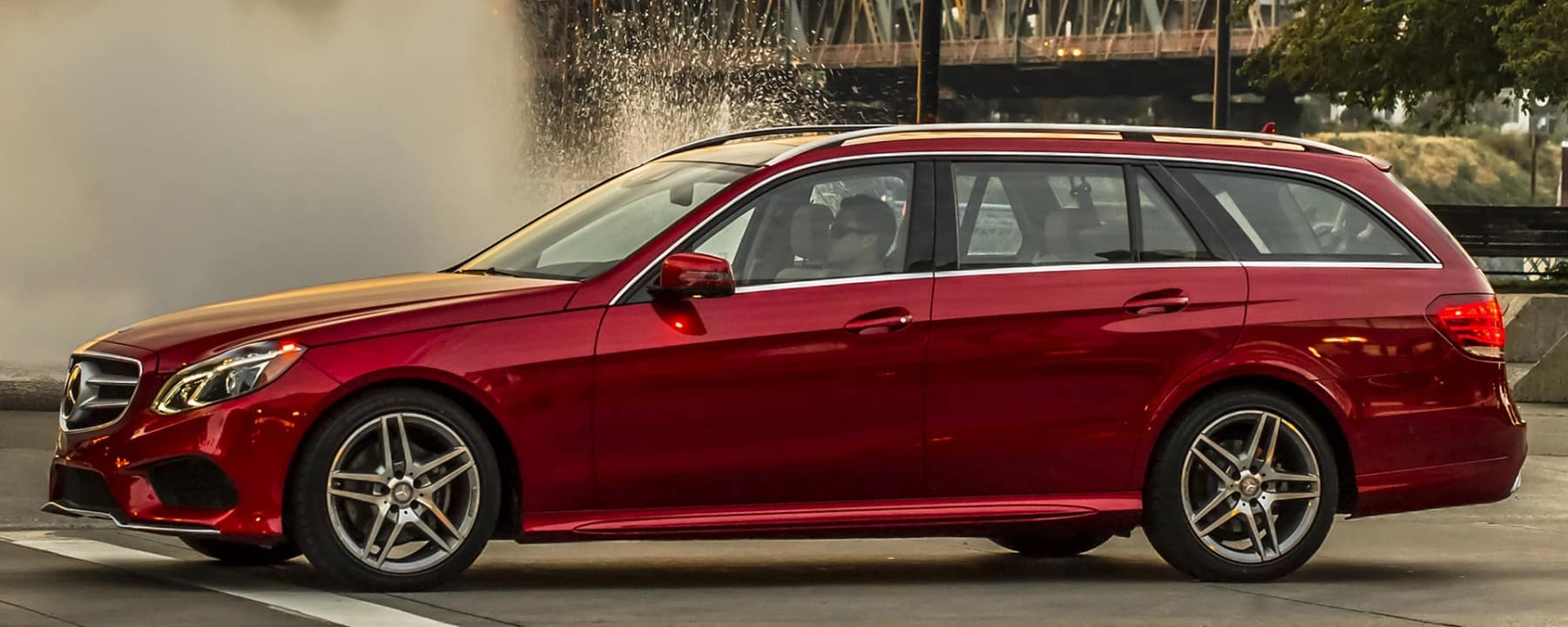 Discovering the new amg e class wagon mercedes benz of for Mercedes benz of buffalo