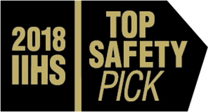 2018 IIHS Top Safety Pick Mercedes-Benz GLE SUV