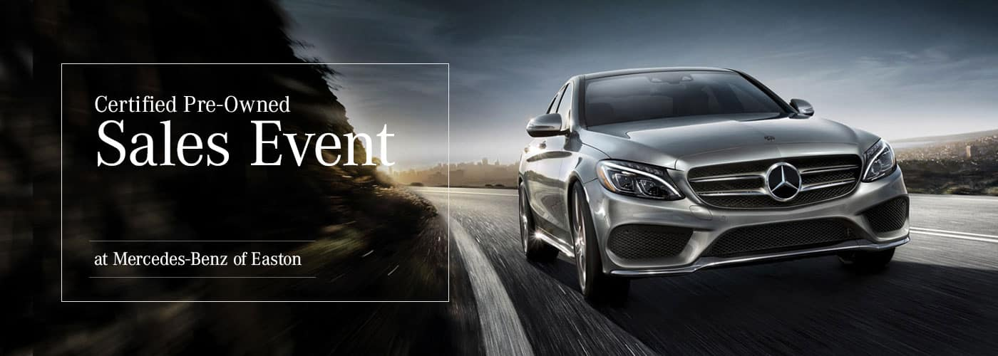 Certified Pre-Owned Sales Event at Mercedes-Benz of Easton