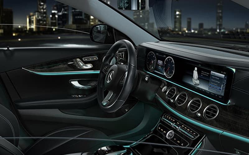 2018 Mercedes-Benz E-Class Sedan Interior