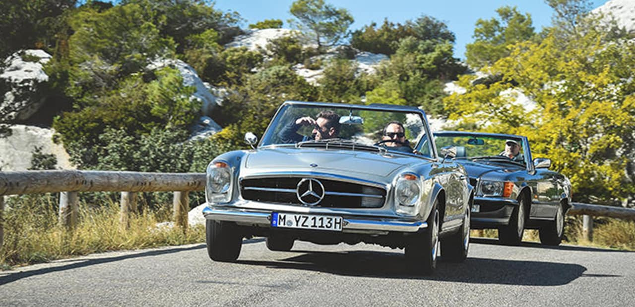 Mercedes-Benz Classic Car Tour France