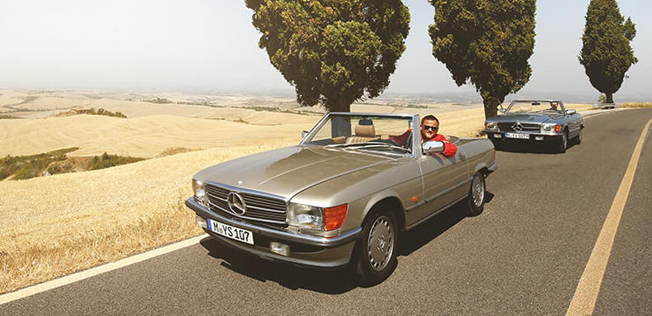 Tuscany Mercedes-Benz SL Tour