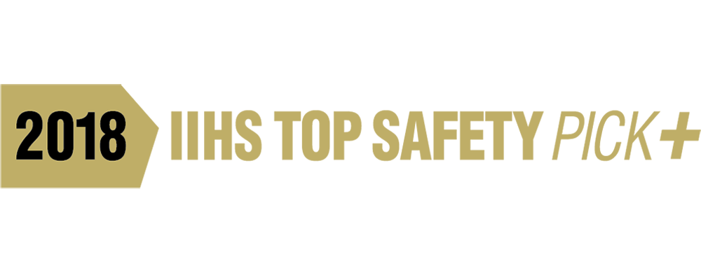 2018 IIHS Top Safety Pick Plus Awards