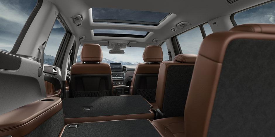 2018 Mercedes-Benz GLS Interior