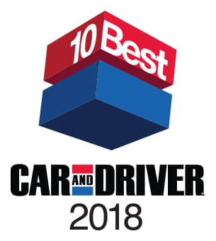2018 Car and Driver 10Best Awards