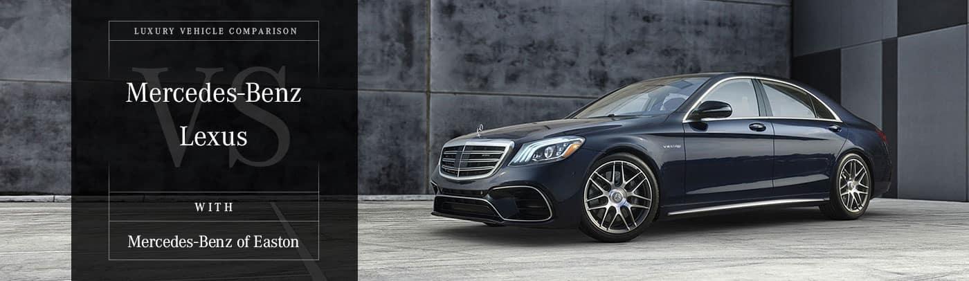 Mercedes-Benz vs. Lexus Comparison Page in Columbus, OH